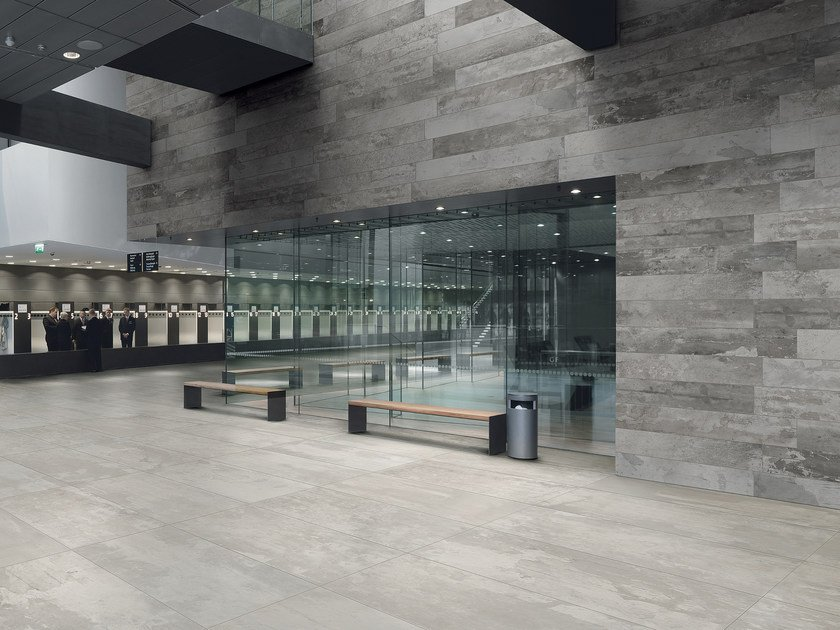 Porcelain stoneware wall/floor tiles DESIGN INDUSTRY by Ceramiche Refin