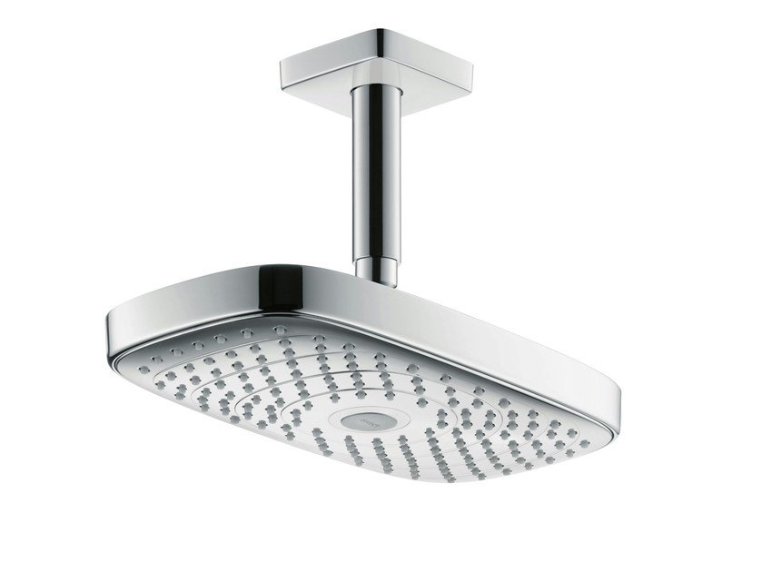 2-spray rain shower RAINDANCE SELECT E 300 | Ceiling mounted overhead shower by hansgrohe