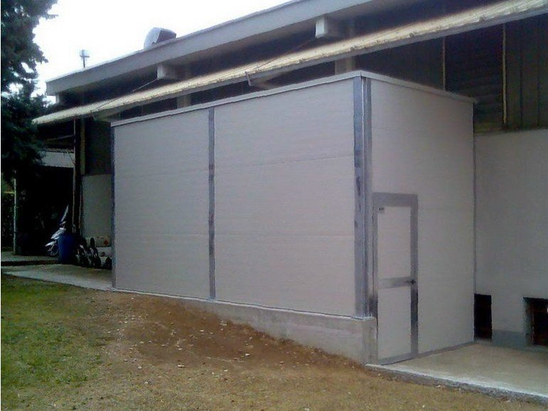Sound insulating and sound absorbent cabin and screen Sound insulating and sound absorbent cabin and screen by SILTE