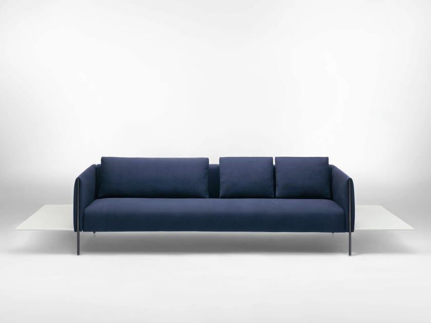 3 seater sofa PILLAR by paola lenti