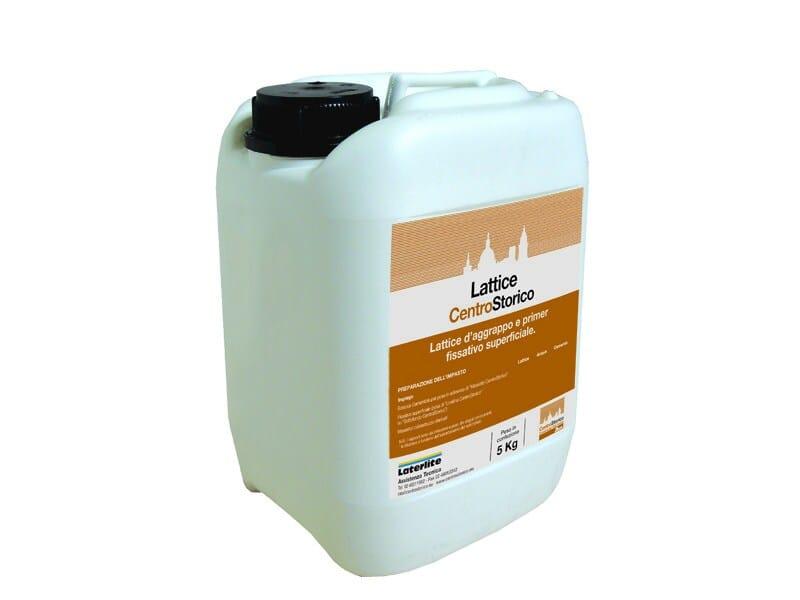 Lattice d'aggrappo e primer fissativo superficiale LATTICE CENTROSTORICO by Laterlite