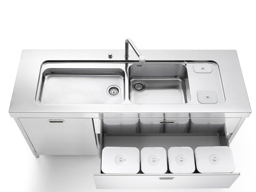 Stainless steel kitchen / sink LIBERI IN CUCINA | Sink by ALPES-INOX