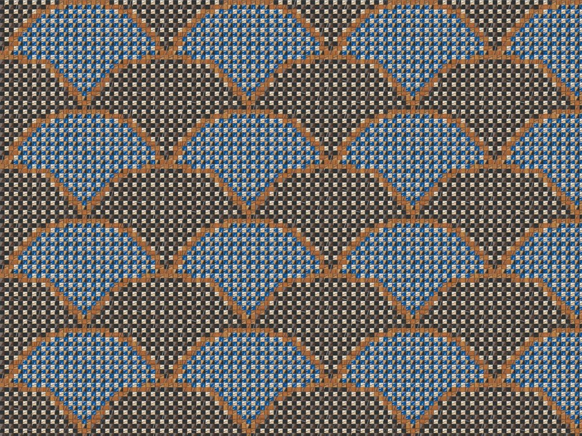 Wood and Glass Mosaic MAREA by Mosaico+