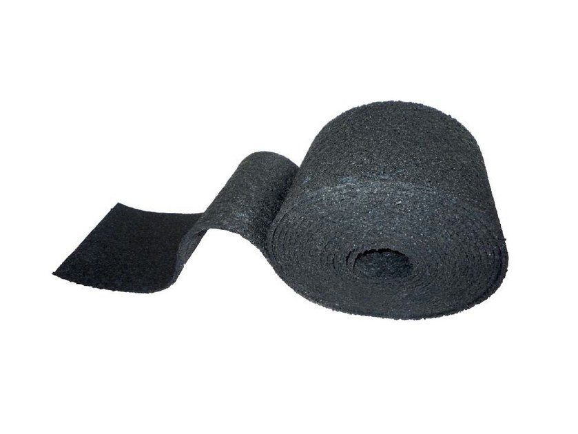 Sound insulation felt DAMPSTRIP SP by PROJECT FOR BUILDING