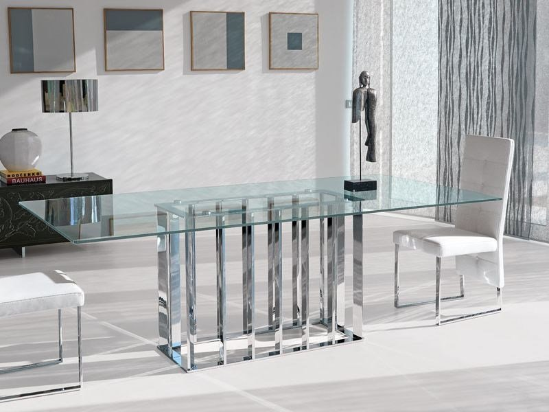 Rectangular table PLACE VENDOME by Italy Dream Design