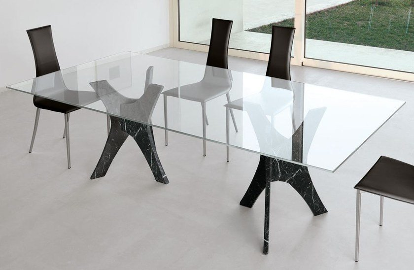 Rectangular table PANTHEON by Italy Dream Design