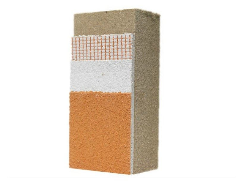 Wood fibre Exterior insulation system NORDTEX SYSTEM 230 by NORDTEX