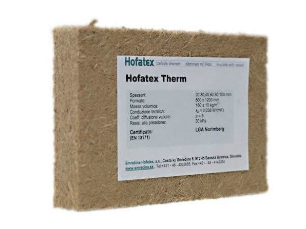 Wood fibre thermal insulation panel NORDTEX THERM by NORDTEX