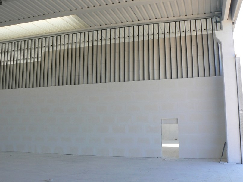 Fireproof gypsum plasterboard for suspended ceiling CARRARO PLATE GF25 by NORDTEX
