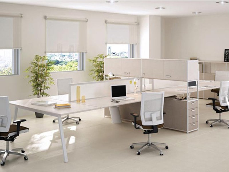 Office desk with shelves ASSIST   Office desk by ESTEL GROUP