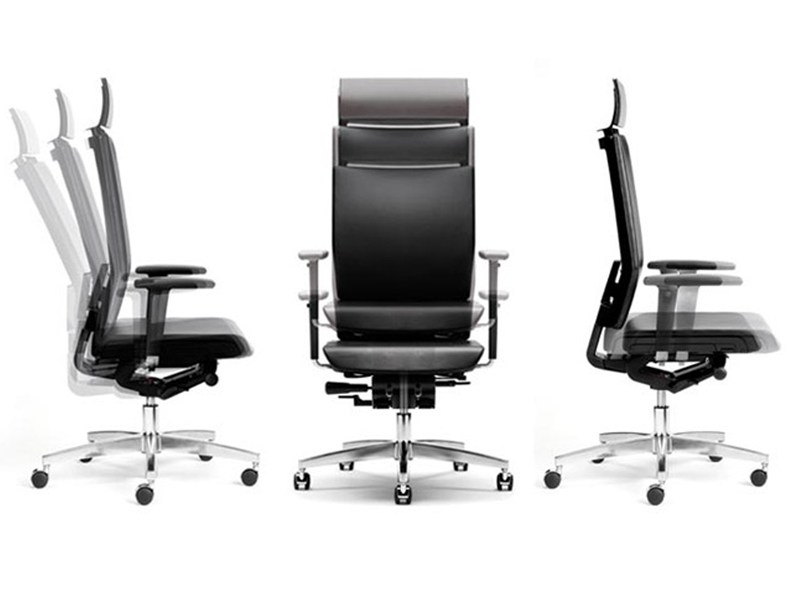 Swivel leather executive chair MODO | Executive chair by ESTEL GROUP