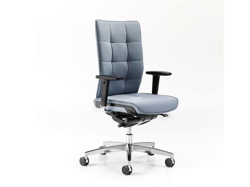 Height-adjustable ergonomic task chair MODO | Task chair by ESTEL GROUP