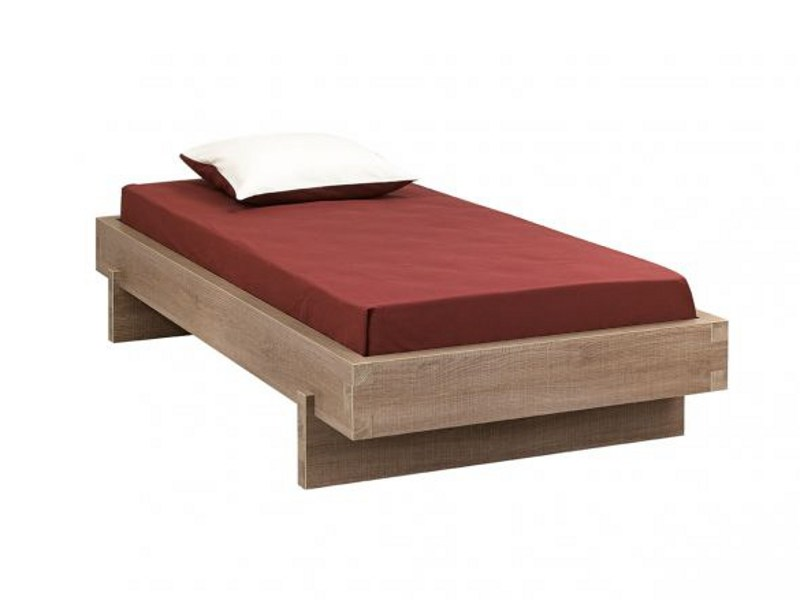 Wooden bed TWEED | Bed by GAUTIER FRANCE