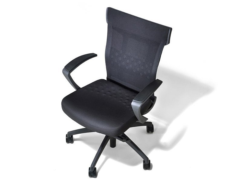 Fabric task chair with casters UNIQA | Fabric task chair by ESTEL GROUP