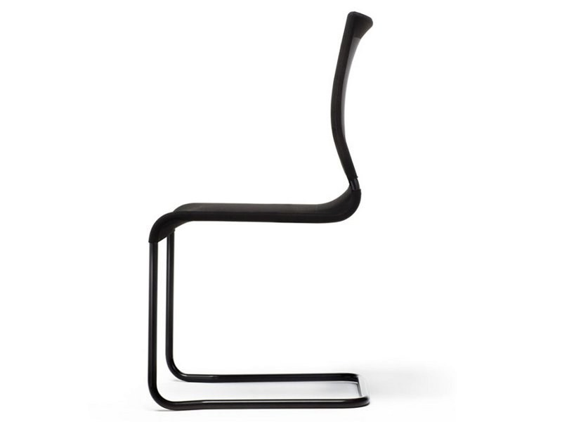 Cantilever fabric chair VERSO   Cantilever chair by ESTEL GROUP