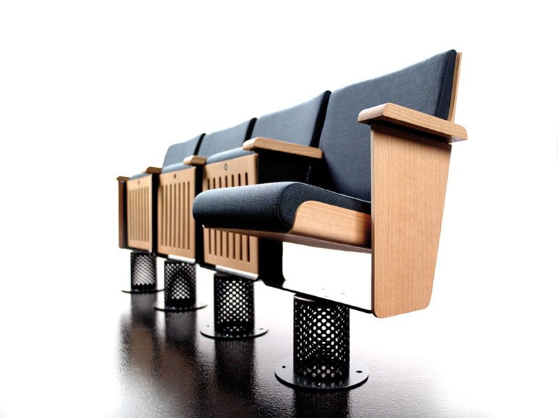 Fabric auditorium seats KING by ESTEL GROUP