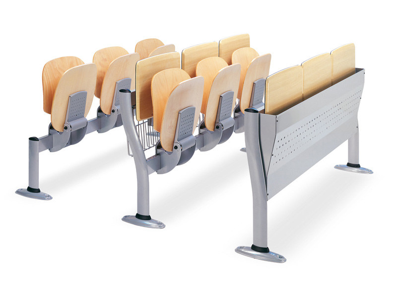 Wooden bench desk / beam seating COPERNICO by ESTEL GROUP