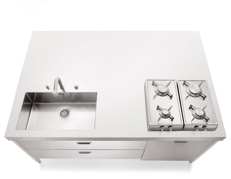 LIBERI IN CUCINA | Küche aus Edelstahl By ALPES-INOX