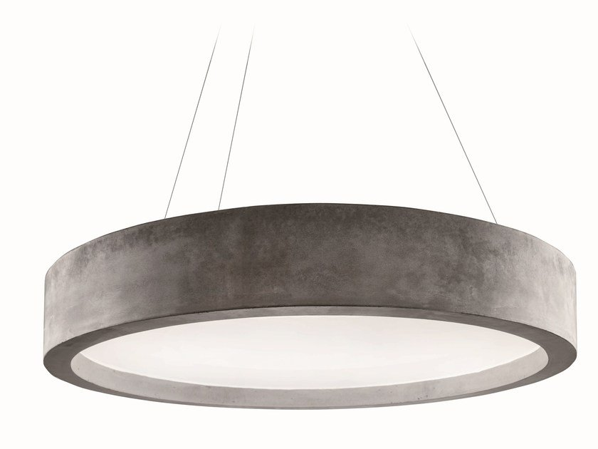 LED cement pendant lamp ZERO51 | Pendant lamp by LUCIFERO'S
