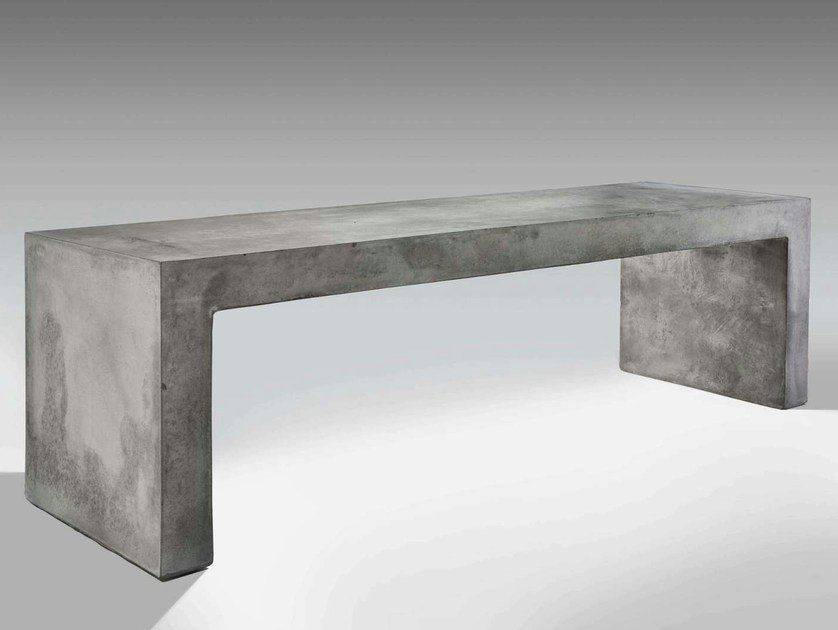 Cement Bench with Integrated Lighting PANCA by LUCIFERO'S