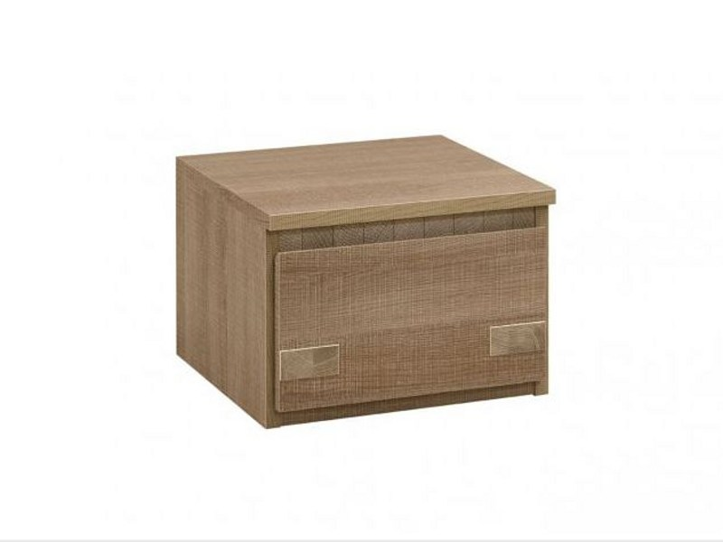 Oak bedside table with drawers MERVENT | Bedside table by GAUTIER FRANCE