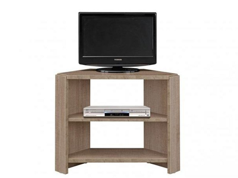 Corner oak TV cabinet MERVENT | TV cabinet by GAUTIER FRANCE