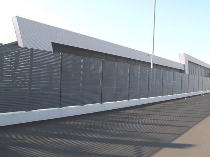 Recinzione modulare horizon grigliati baldassar for Baldassar recinzioni