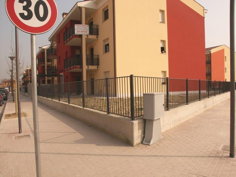 Steel Fence OVALIS by GRIGLIATI BALDASSAR