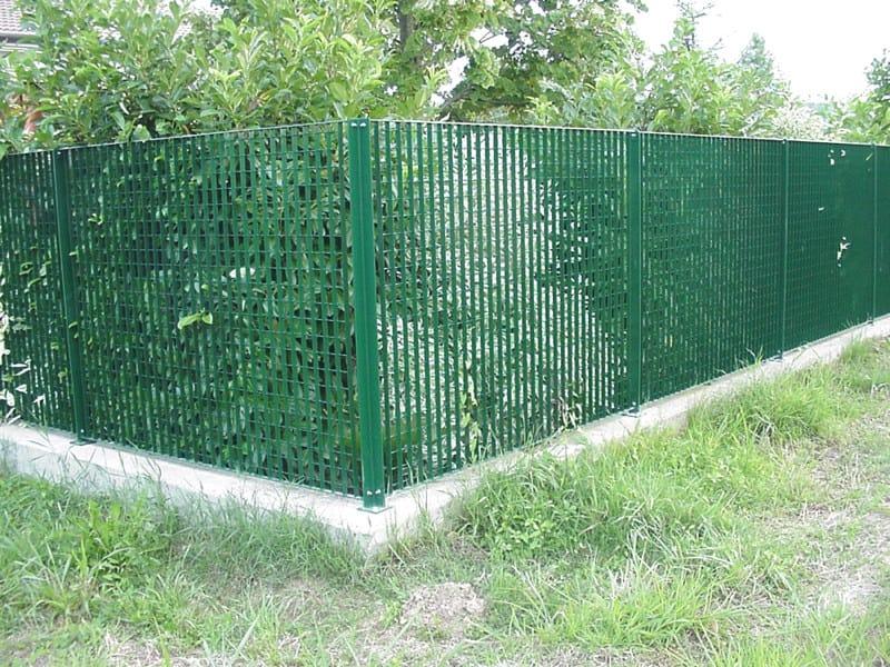 Modular steel Fence QUASAR by GRIGLIATI BALDASSAR