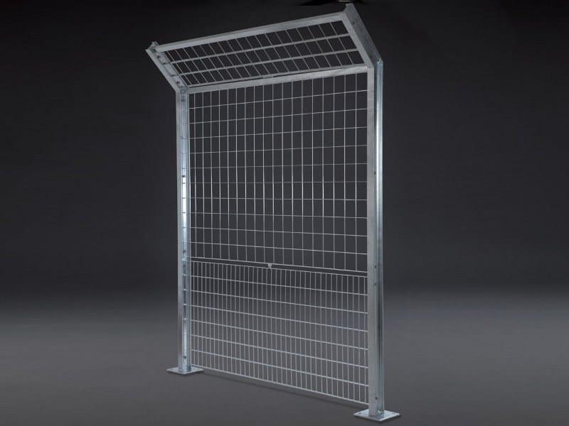 Modular steel Fence OLIMPIA SAFE by GRIGLIATI BALDASSAR