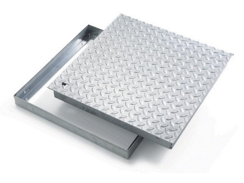 Manhole cover and grille for plumbing and drainage system TRANSIT by GRIGLIATI BALDASSAR