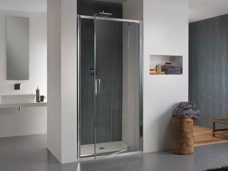 Niche glass shower cabin with tray MORELIVE® by MEGIUS