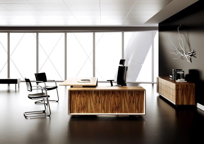 Wooden executive desk CEO | Executive desk by MASCAGNI