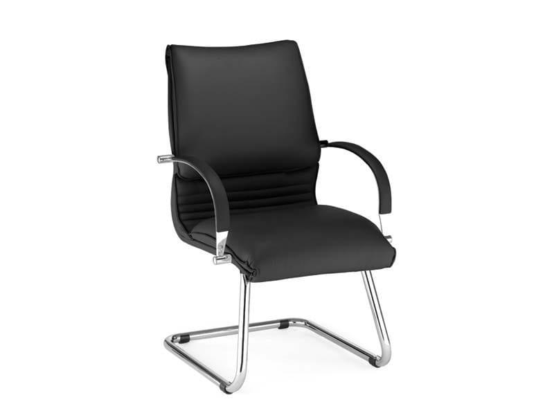 ARTÙ | Sedia a sbalzo ARTÙ Sedia a sbalzo - Poltrona visitatore con braccioli, base a slitta