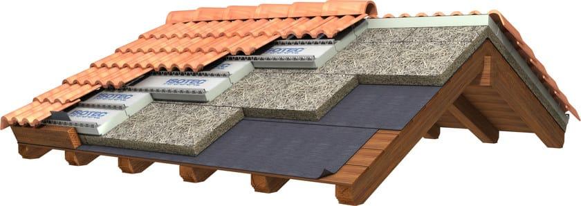 Tetti con isolanti leggeri celenit sistema per tetto for Tetto coibentato prezzi
