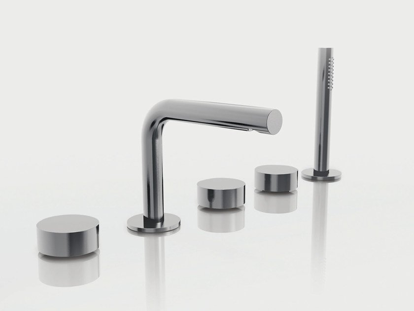 Set vasca a 5 fori con doccetta AF/21 | Set vasca a 5 fori by ABOUTWATER