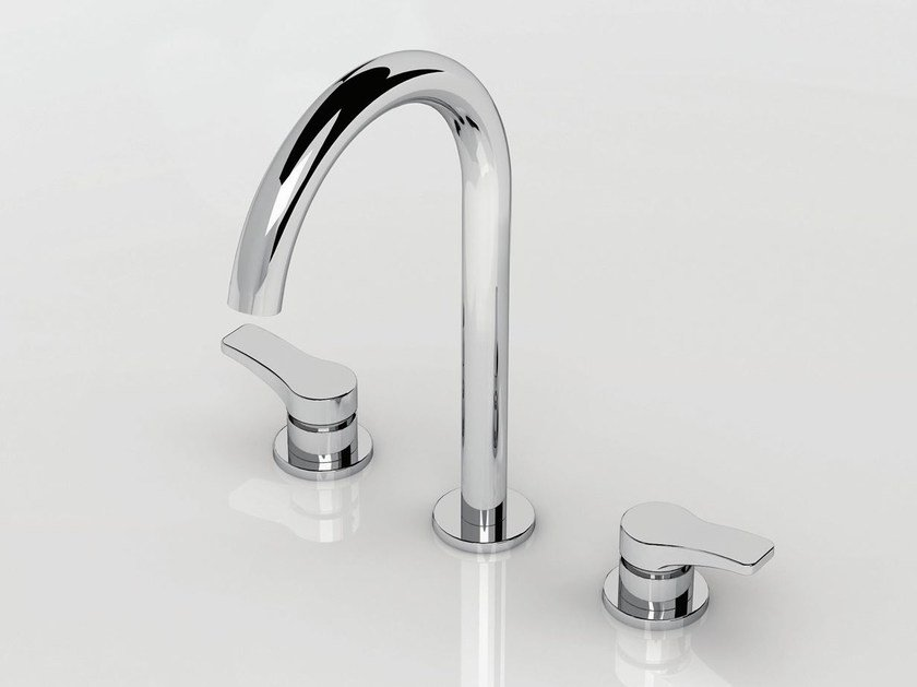 3 hole countertop washbasin tap AL/23 | 3 hole washbasin tap by ABOUTWATER