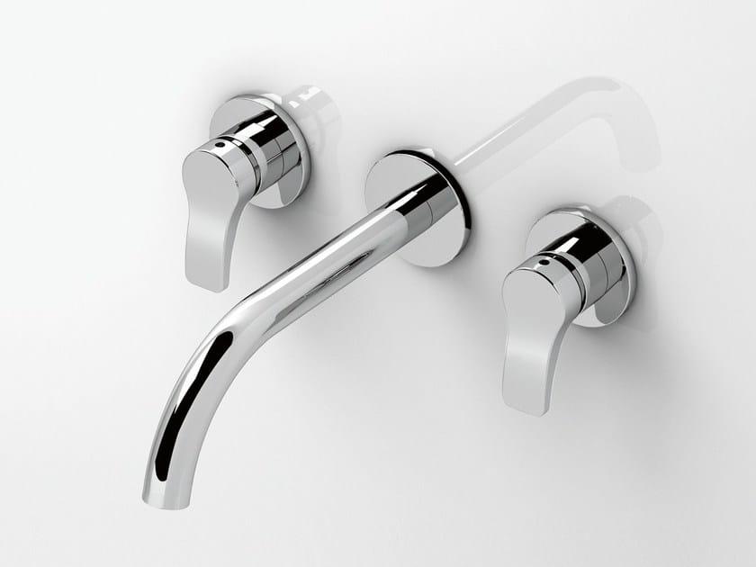 Rubinetto per lavabo a 3 fori a muro AL/23 | Rubinetto per lavabo a 3 fori by ABOUTWATER