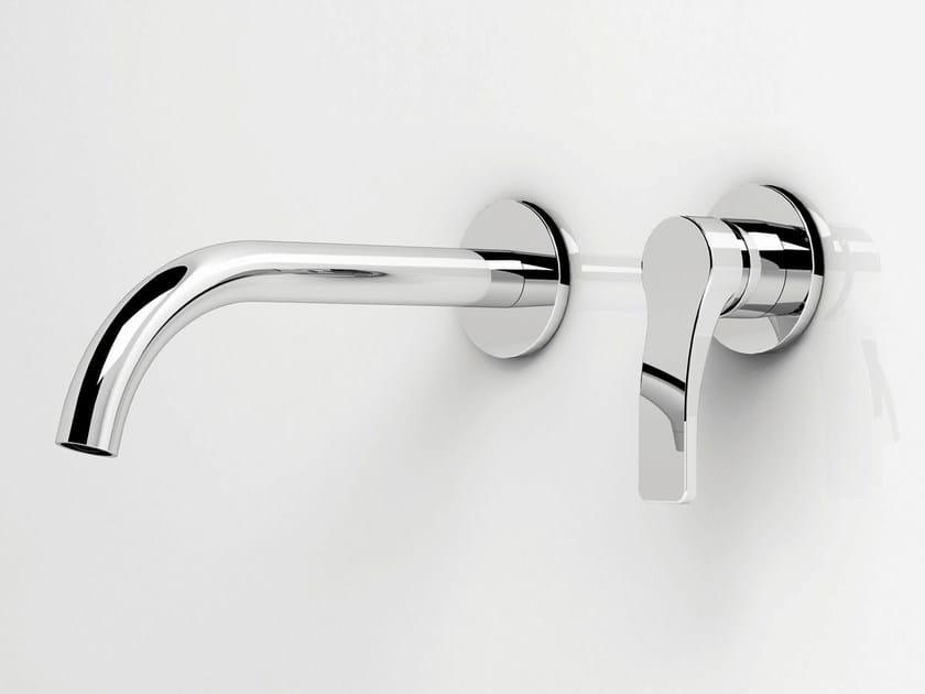 Miscelatore per lavabo a 2 fori a muro AL/23   Miscelatore per lavabo a 2 fori by ABOUTWATER