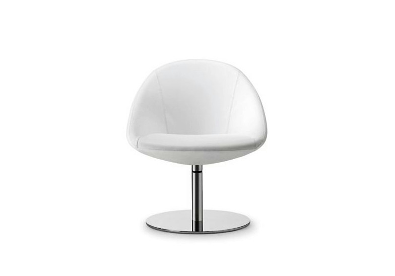 Swivel easy chair with armrests CLUB 048 by Tonon