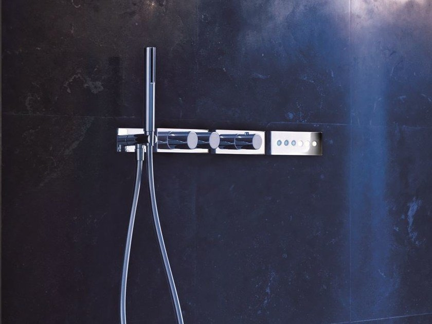 Electronic thermostatic shower mixer ACQUA ZONE DREAM | Thermostatic shower mixer by Fantini Rubinetti