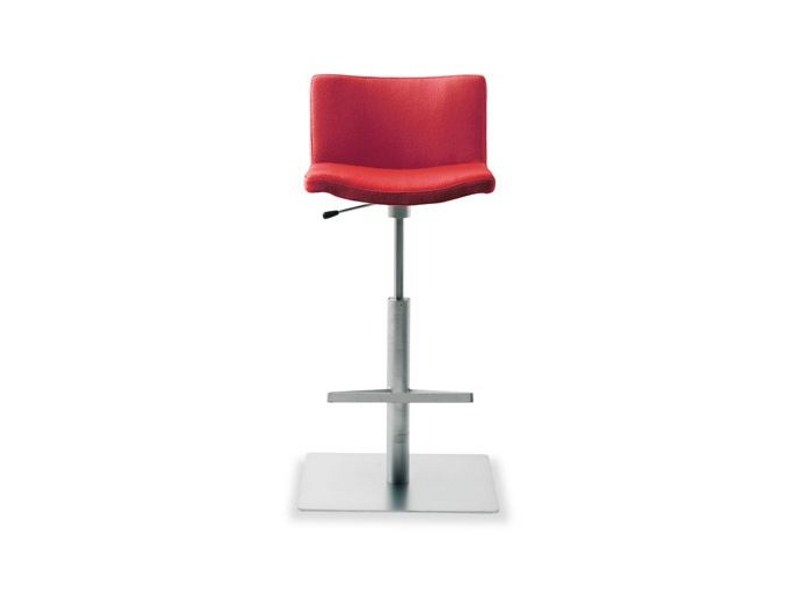 High upholstered stool WAVE 901 | Stool by Tonon
