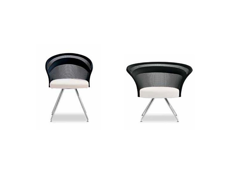 Swivel upholstered chair SHELLS 945   Chair by Tonon