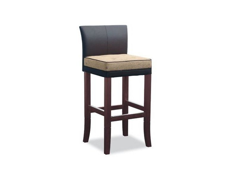 High upholstered stool LORD GERRIT 222 | Stool by Tonon