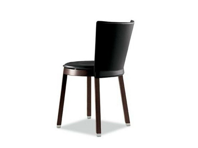 Upholstered wooden chair SELLA 290 | Chair by Tonon
