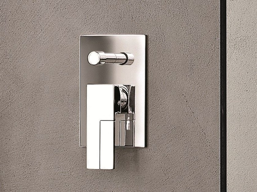 Shower mixer with diverter with plate AR/38 | Shower mixer with plate by Fantini Rubinetti