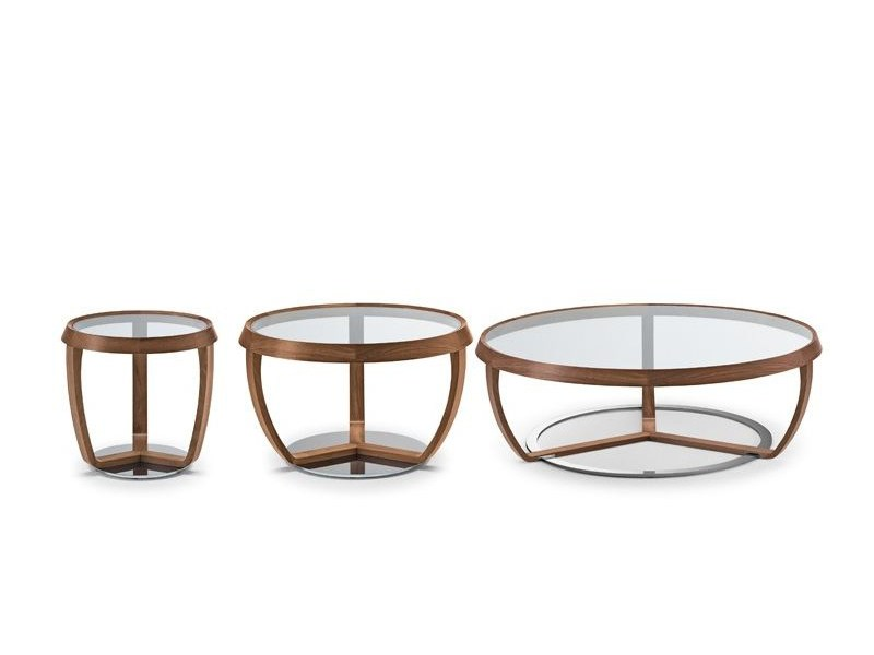 Solid wood coffee table TIME 232 | Coffee table by Tonon