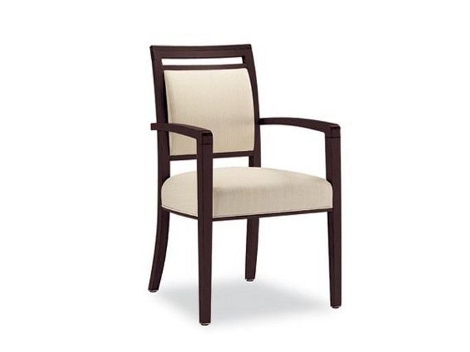 Upholstered chair with armrests SKYLINE 308 | Chair with armrests by Tonon