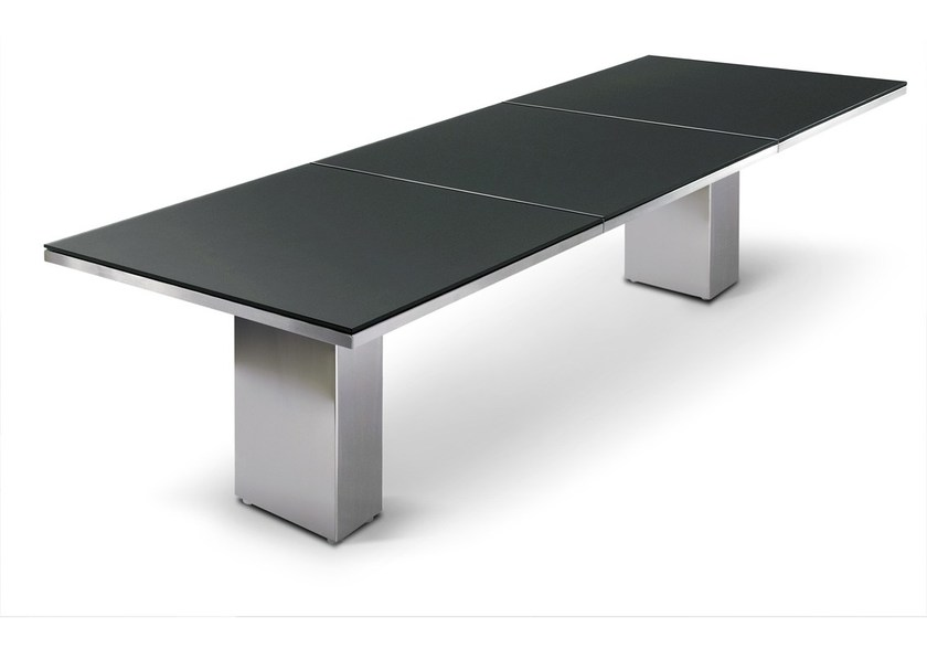 Rectangular garden table DOBLE | Garden table by FueraDentro