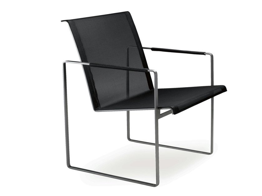 Batyline® garden chair with armrests POLTRONA by FueraDentro
